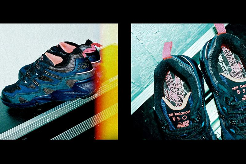 mita sneakers x STUDIO SEVEN x New Balance 850 Japanese Collaboration Sneaker Release Date Drop Information Closer First Look Limited Edition Colorway Japan Tokyo NAOTO J SOUL BROTHERS from EXILE TRIBE Boutique