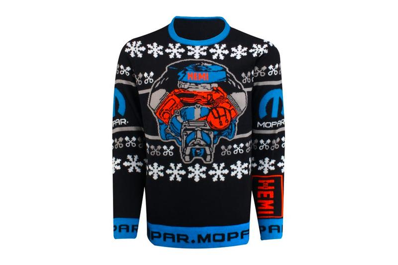 Mopar Ugly Sweater 426 HELLEPHANT Release Klassics by Kurtis X-Mas Christmas 426 HELLEPHANT HOLIDAY GLASS ORNAMENT Chevy