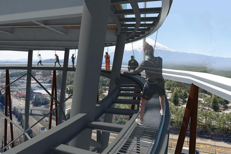 japan mount fuji travel tourism fujiyama tower 2021 summer opening fujiq highland amusement park