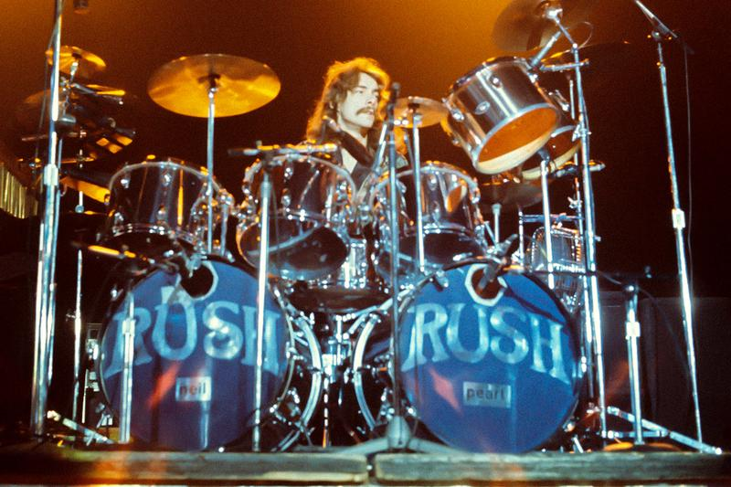 Neil Peart 2112 Drum Set 500000 USD bonhams Auction house rush drummer fly by Night Caress of Steel 2112 1974