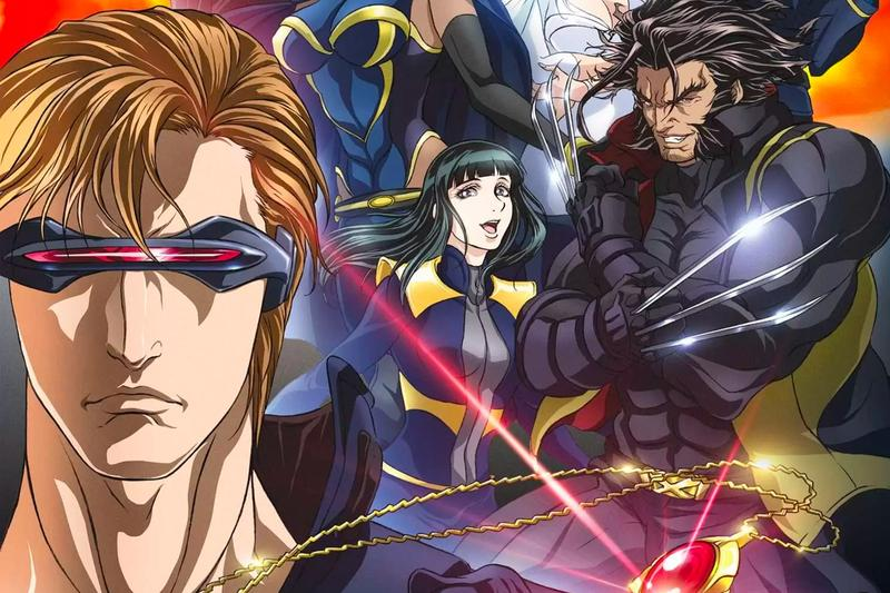 Netflix Adds Marvel Anime X-Men Wolverine Info Release Watch Madhouse