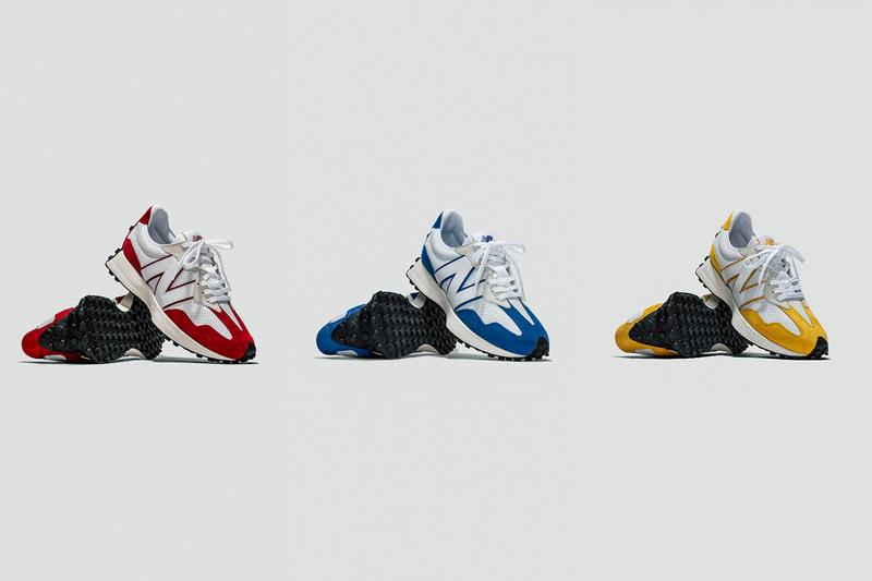 new balance 327 primary pack white red blue yellow official release date info photos price store list buying guide