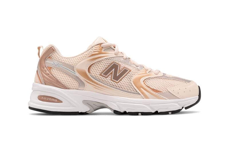 new balance 530 sneaker release information light pink rose gold sneaker release information where to buy retro running dad trainer