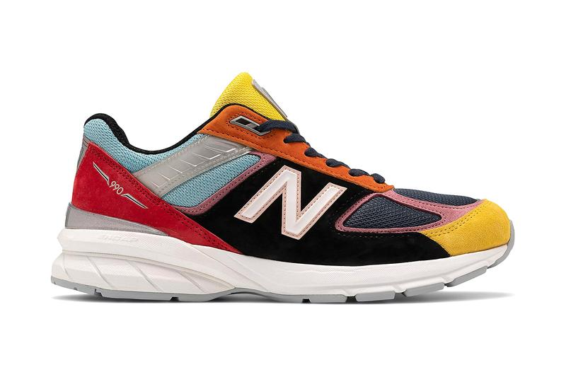 New balance 990v5 multi coloured release information how much kawhi Leonard