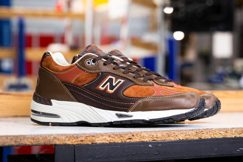 new balance 991 1500 gentlemans pack made in uk great britain brown tan gray white official release date info photos price store list buying guide