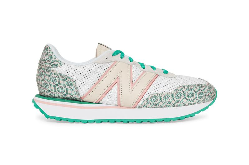 new balance Casablanca 327 237 release information collaboration monogram pattern 2020 December release where to buy