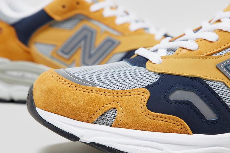 new balance 920 made in UK yellow release information where to buy when do they drop mustard navy orange
