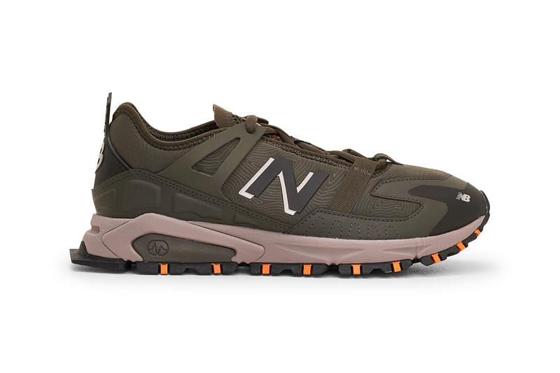 "New Balance X-Racer ""Moonbeam"" ""Camo Green"" MSXRC SS21 Spring Summer 2021 Neoprene Rubber Suede Mesh ABZORB Très Bien Sneaker Store Shop Online Cop Trail Running Shoe Trainer Footwear Drop Date Release Information Closer First Look"