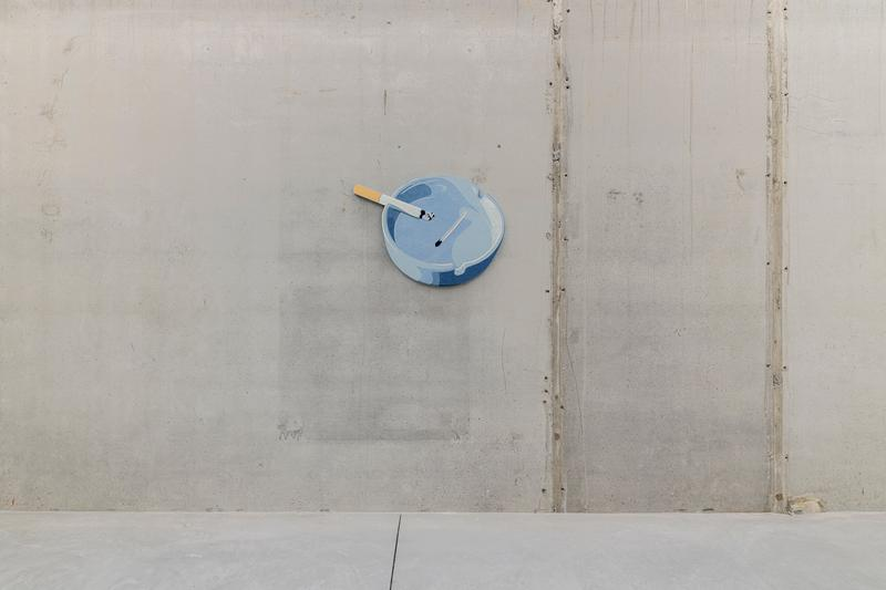 nick doyle nowhere exhibition stems gallery paintings sculptures artworks contemporary art