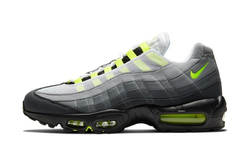 "Official Look at the Nike Air Max 95 ""Neon"""