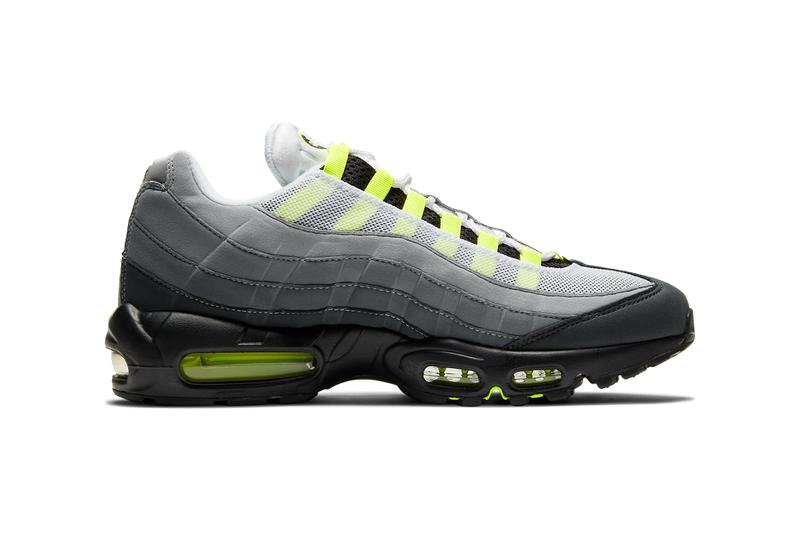 nike sportswear air max 95 neon black yellow graphite ct1689 001 official release date info photos price store list buying guide