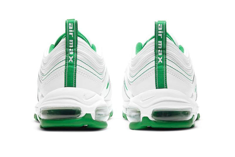 Nike Air Max 97 Pine Green dh0271 100 menswear streetwear sneakers shoes kicks trainers runners fall winter 2020 collection fw20