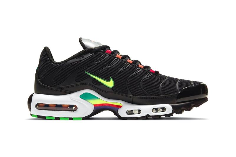 Nike air max plus black corduroy release information where to buy when do they drop