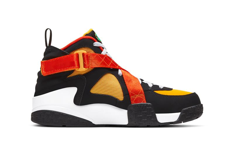 nike sportswear air raid roswell rayguns yellow orange green black white dd9222 001 official release date info photos price store list buying guide
