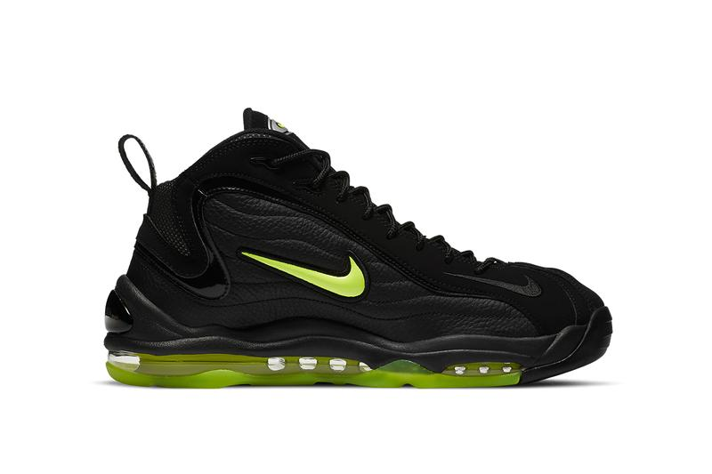 nike air total max uptempo black volt DA2339 001 release date info photos buying guide