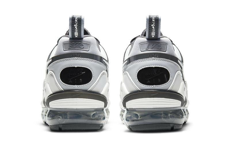 Nike Air VaporMax EVO Wolf Grey Official Look Release Info ct2868-002 White Anthracite Dark