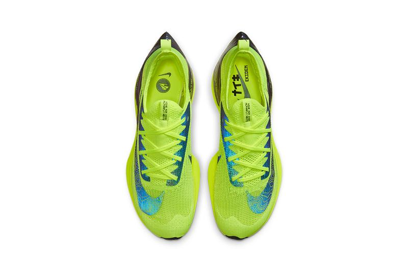 nike air zoom alphafly next percent volt ekiden DC5238 702 release info date photos pricing buying guide