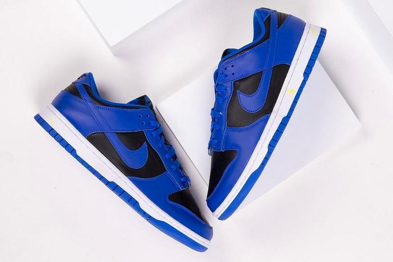 Nike Dunk Low Hyper Cobalt dd1391 001 menswear streetwear kicks shoes footwear fall winter 2020 collection fw20