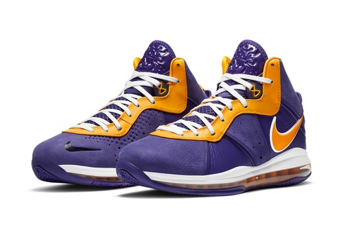 Nike LeBron 8 Retro Gets a Lakers-Inspired Makeover