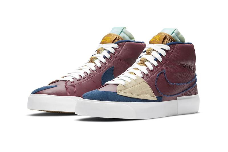 Nike SB Blazer Mid Edge Team Red da2189 600 menswear streetwear kicks sneakers trainers runners shoes footwear fall winter 2020 collection fw20