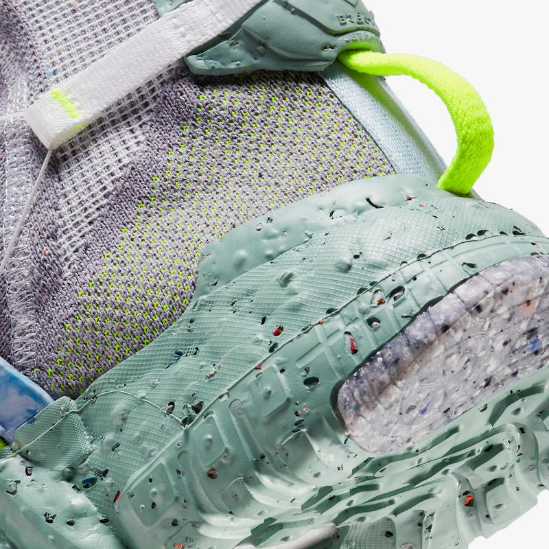 nike sportswear space hippie 03 flyease healing jade volt gray blue CQ3989 004 official release date info photos price store list buying guide