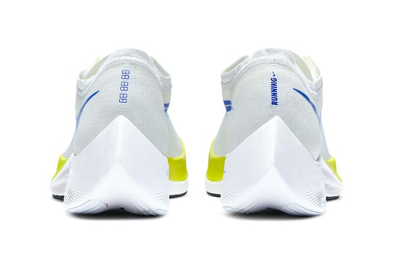 nike running zoomX white cyber release information blue black yellow when do they drop