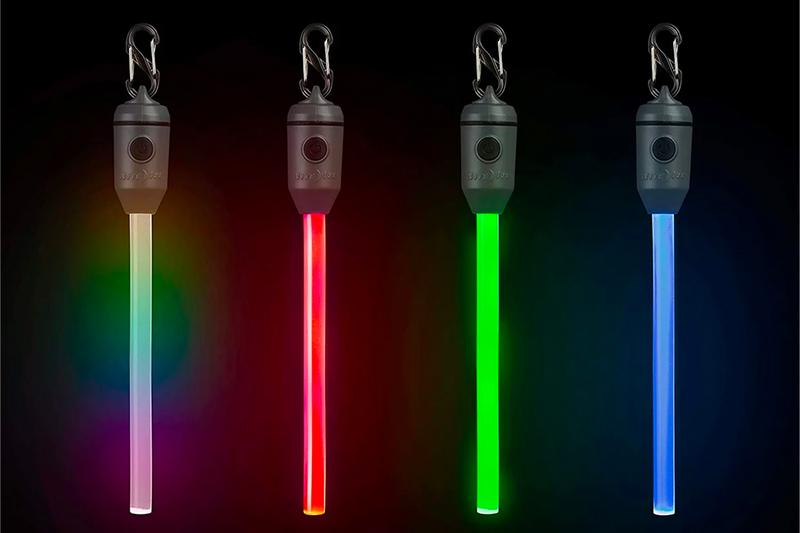 Nite Ize LED Rechargeable Glow Sticks Reusable Colorful Non-Chemical Disco Long-life Long-lasting Release
