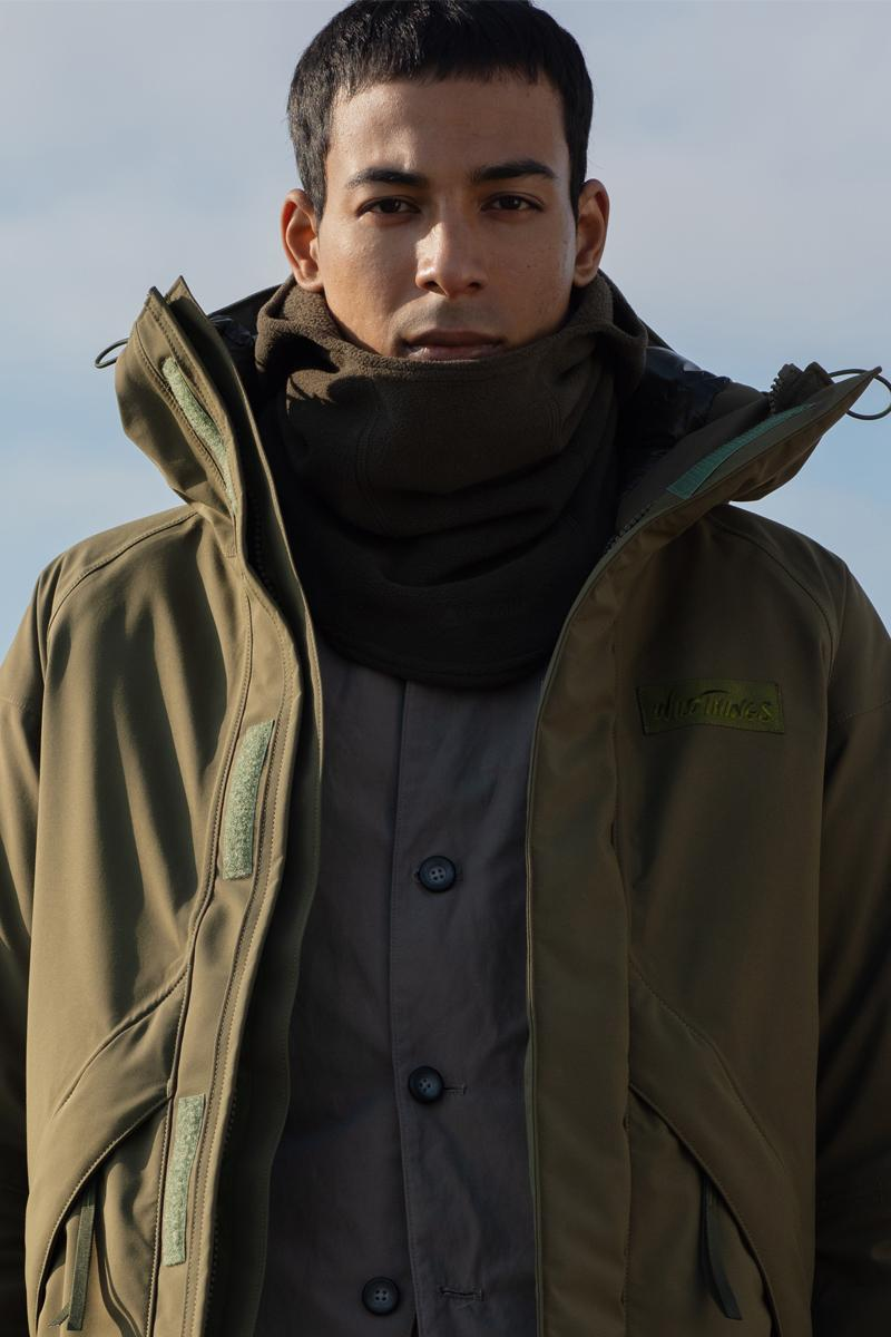 nonnative Wild Things Gramicci Midwinter Pack Release High Performance Fleece Puff Jumper Gore tex