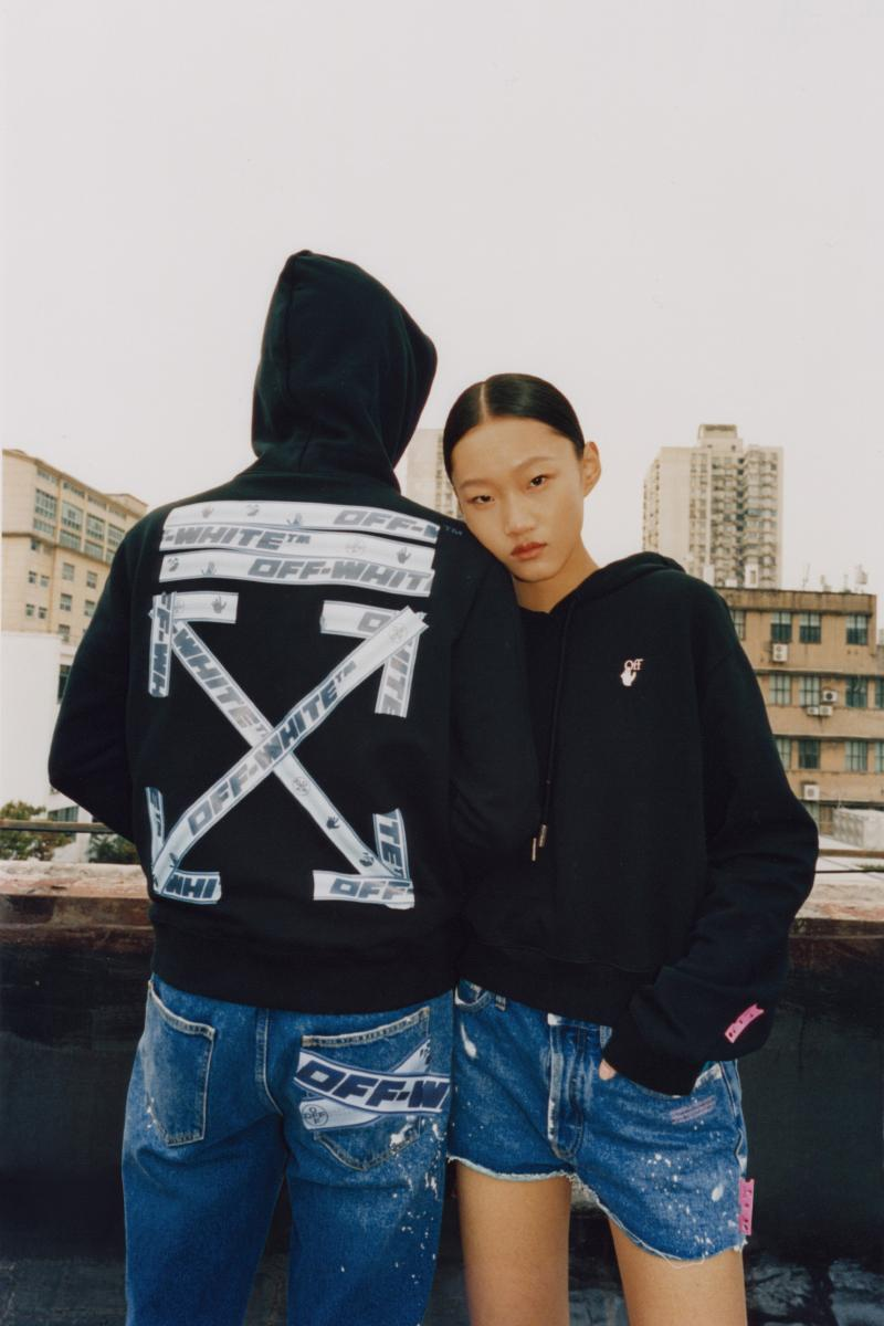 wechat off white capsule collection clothing fashion style