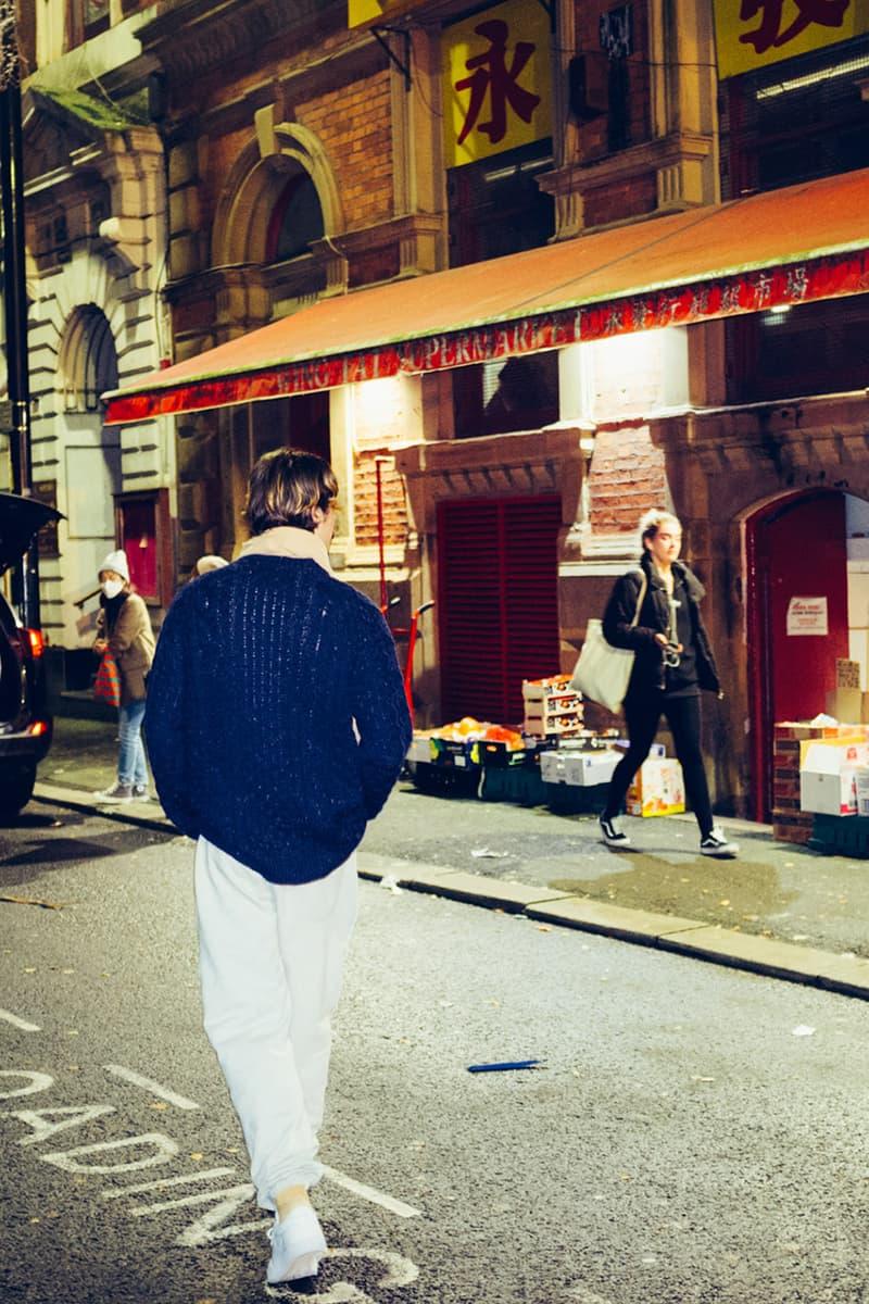 oi polloi aran jumper classic menswear david bowie steve sanderson release information details pure sunburst burgundy blue john nep