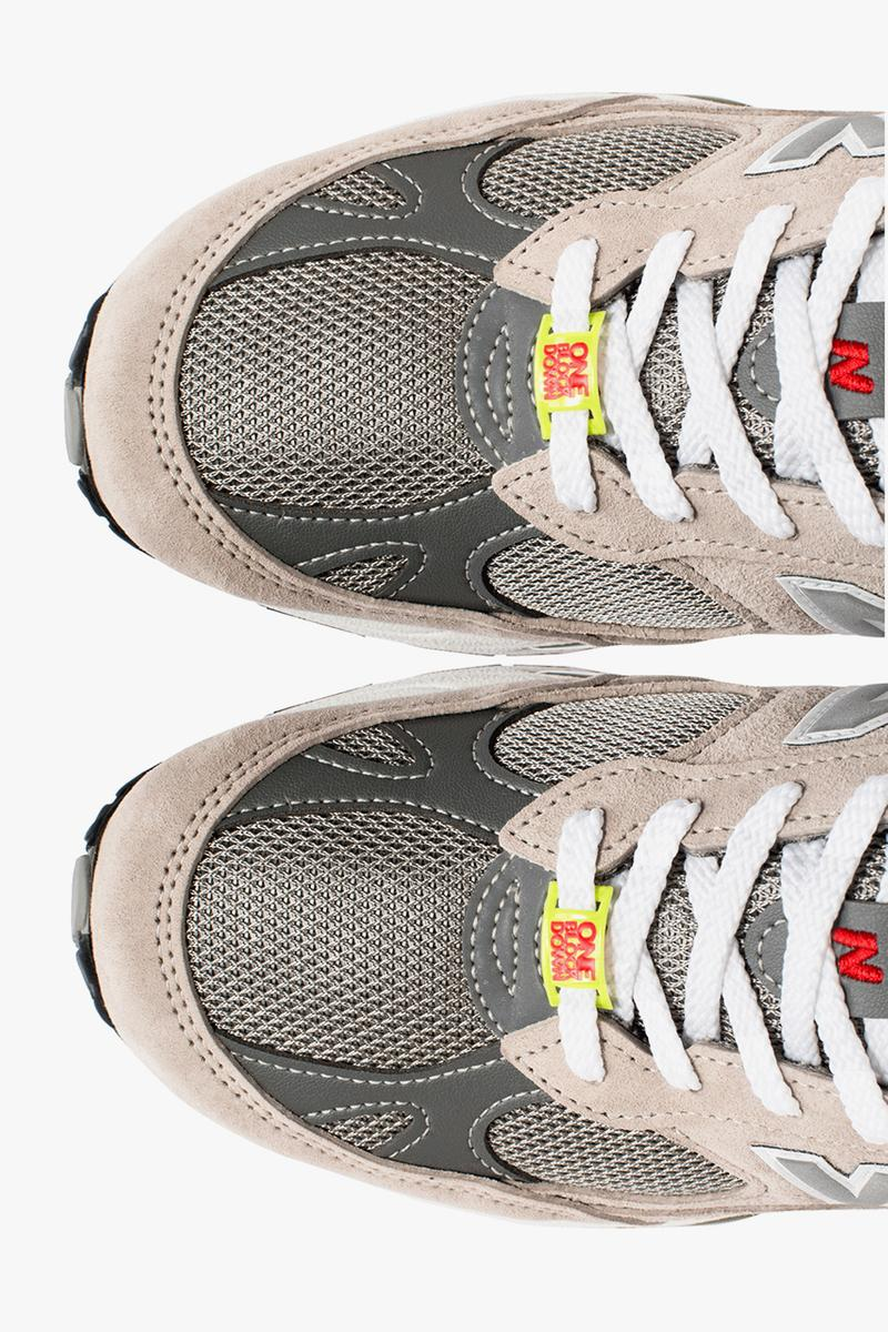 one block down new balance 991 1500 rome italy milan marble gray release information details