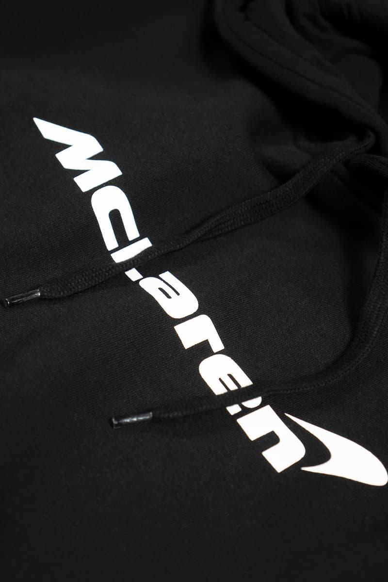 McLaren x Period Correct Merch Collection Drop