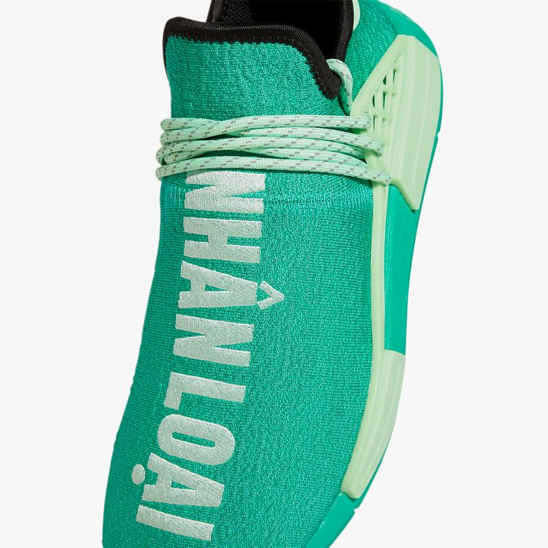 pharrell williams adidas nmd hu green GY0089 vietnamese human race official release date info photos price store list buying guide