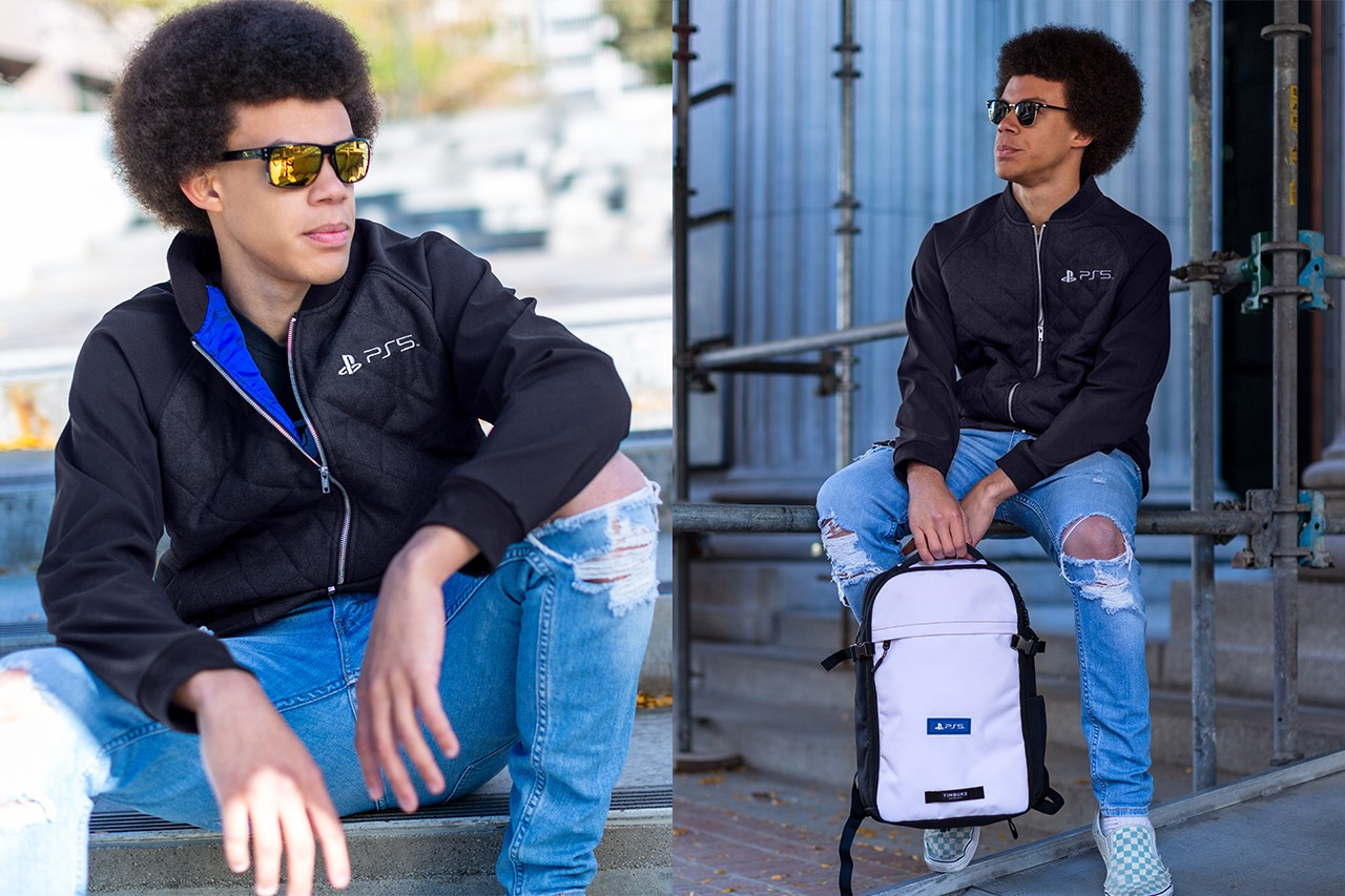 ps5 sony t-shirt backpack water bottle jacket quilted console long sleeve snowsuit beanies