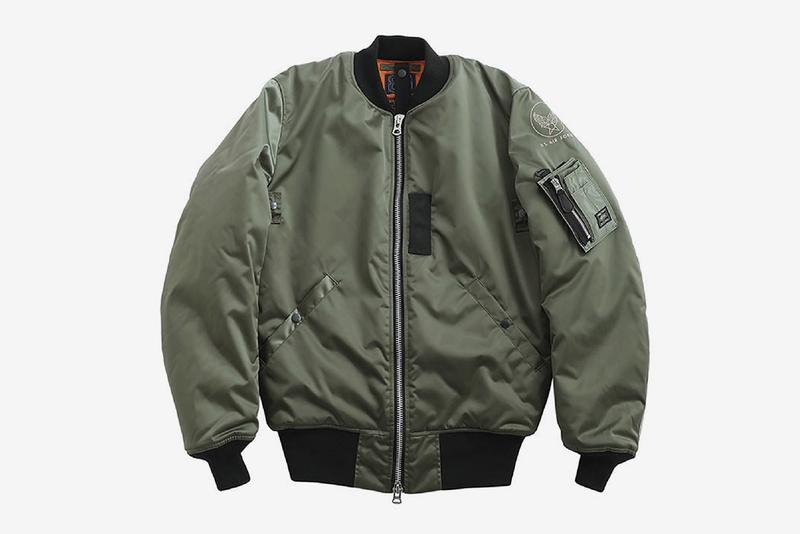 PORTER Continues Its 85th Anniversary Celebration With BUZZ RICKSON'S MA-1 Jacket kaban yoshida tanker