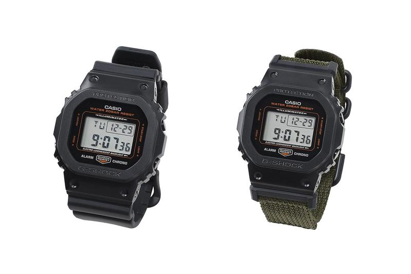 porter g shock casio dw gm 5600 digital watch accessories collaboration timepiece collectible quartz