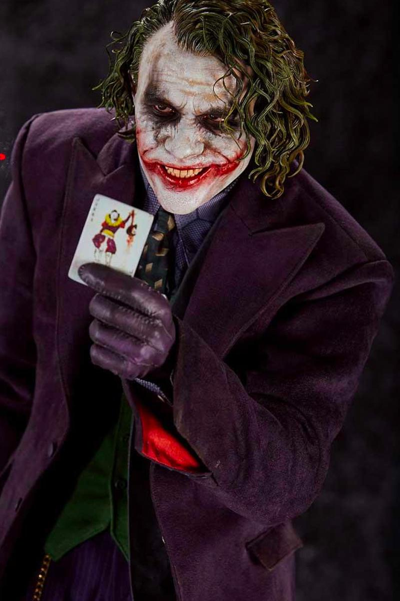Prime1Studio x Blitzway The Dark Knight The Joker 1/3 Scale Figure Heath Ledger Christopher Nolan movies the batman films toys collectibles