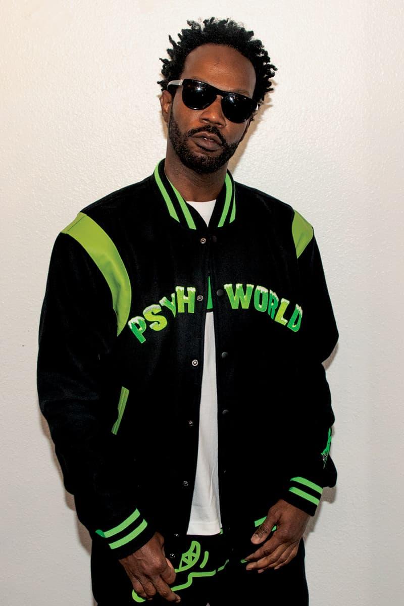 Psychworld BBC ICECREAM Collection HBX Release Info Varsity Jacket Hoodie Zip Trucker t shirt Jeans Buy Price Mask Rug