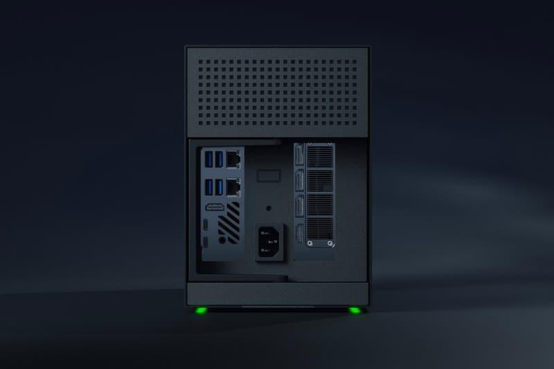 Razer's Small Form Factor Tomahawk Gaming PC Has Just Released NVIDIA GPU RAM Gaming PC Desktop Build Intel Clock SFF Small Form Factor