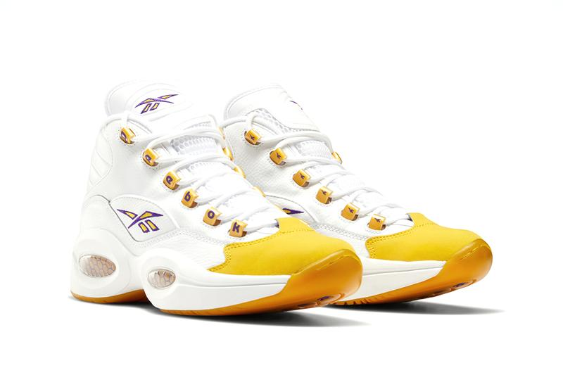 reebok question mid yellow toe FX4278 release date info price store list buying guide photos white yellow thread ultra violet allen iverson kobe bryant pe