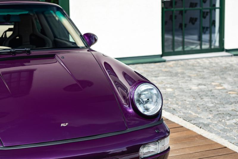 RUF RCT Evo Porsche 911 964 1990 90s Model German Tuned Performance Sports Super Car New Model Technological Wide Body Narrow Kit Design 3.6 liter flat-six