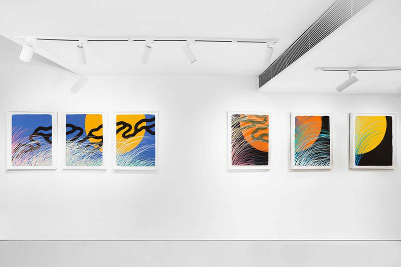 "Sam Friedman Features Rockaway Beach in His Solo ""FANTASY"" Exhibition art painting hong kong cultural artwork Woaw New York"