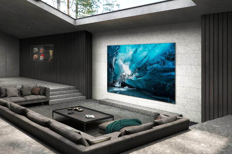 Samsung 110-Inch MicroLED 4K TV Info home electronics displays technology Korean Korea TVs Televisions