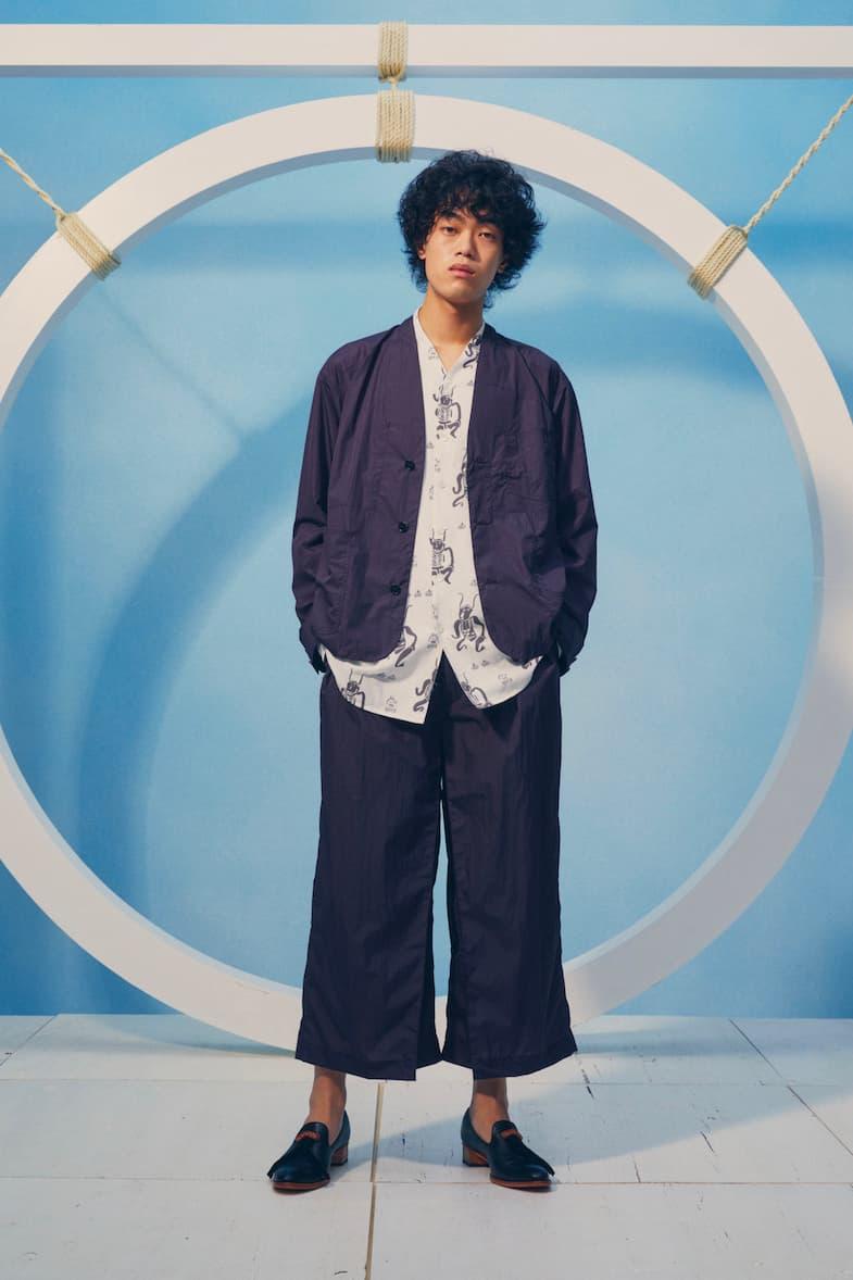 Sasquatchfabrix Spring Summer 2021 Lookbook ss21 collection menswear streetwear jackets shirts shorts button ups trousers pants coats