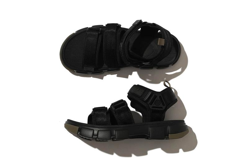 shaka b ming beams neo bungy sandal collaboration black beige release info photos pricing store list buying guide