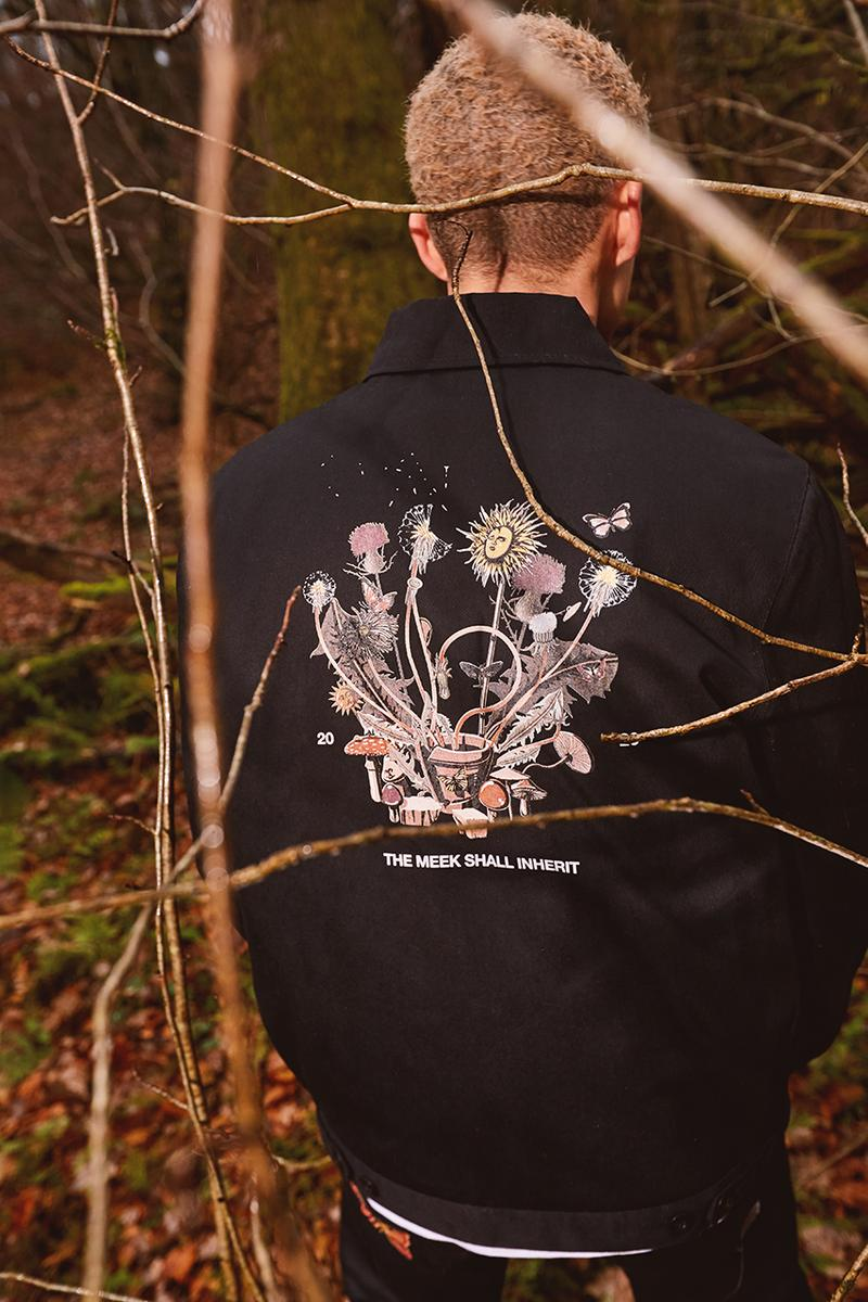 size 20th anniversary collaboration dickies life the meek shall inherit nature workwear release information buy cop purchase