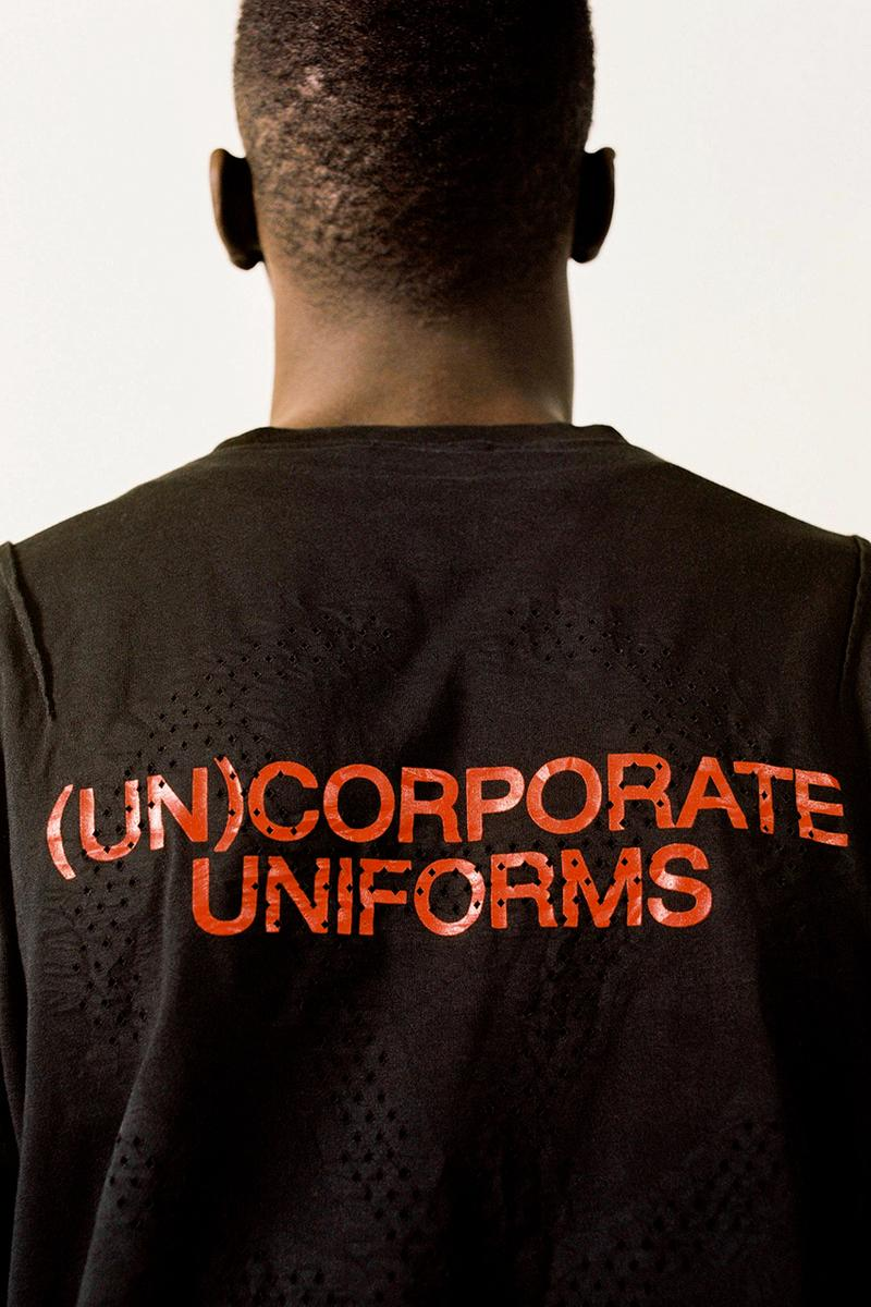 slam jam (Un)corporate Uniforms collection first look product project solo release information italy luca benini buy cop purchase