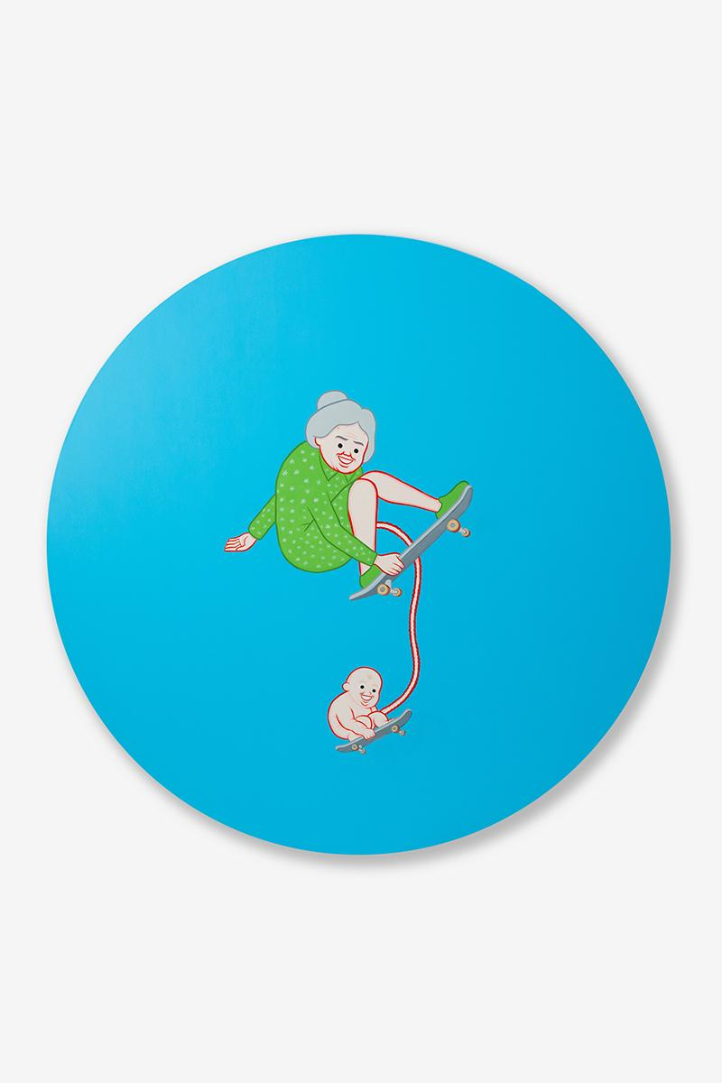 Sothebys Joan Cornellà My Life Is Pointless Exhibition Hong Kong 2020 Contemporary Showcase  arr allrightsreserved