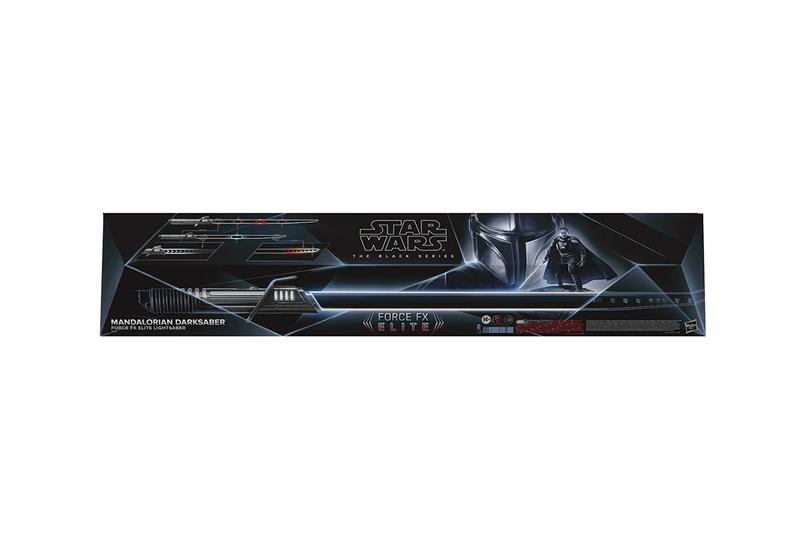 star wars mandalorian darksaber pre order release info lightsaber toy the black series fx elite