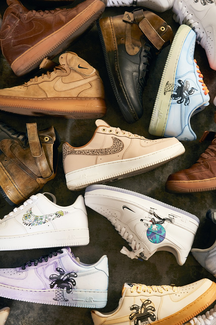 sole mates steven harrington nike air force 1 low high mid interview conversation q and a artist hypebeast official release date info photos price store list buying guide